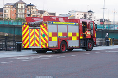 NORTHERN IRELAND FIRE AND RESCUE SERVICE IN BELFAST [SRT APPLIANCE]-129110
