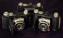 Camera(s) of the Day - 3 x Kodak Retina I Nr. 143