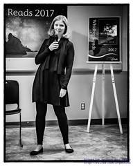 Ashley Ream Posing in Black & White