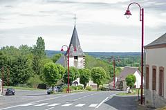 Dampierre-en-Crot (Cher).