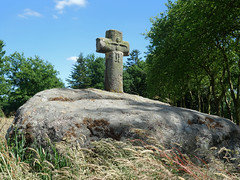 Le menhir christianisé de Bougettin près de Dingé - Ille-et-Vilaine - Juin 2017 - 07