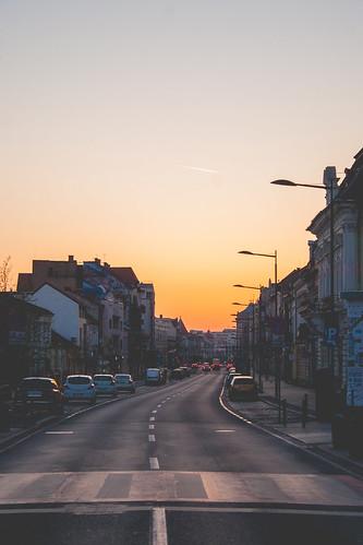 cluj clujnapoca sunrise street boulevard romania