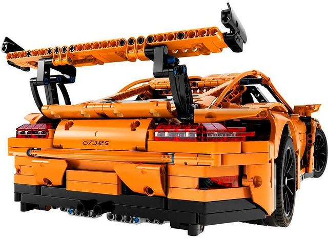 這就是實驗精神!!LEGO 42056【保時捷911 GT3 RS】Porsche 911 GT3 RS 超精彩的撞擊測試影片公開!!