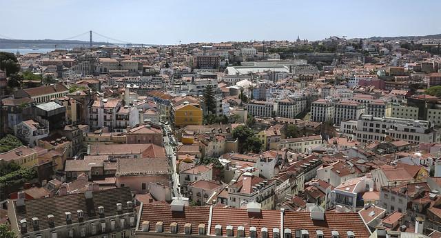 View from Miradouro da Graca Miradouro Sophia de Mello Breyner Andresen