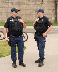 U.S. Coast Guard Police Officers, Fort Wadsworth, New York City