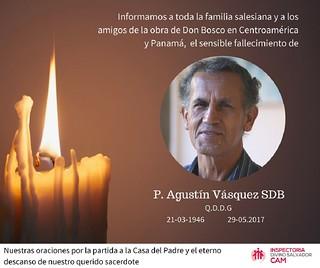 P. Agustin esquela