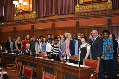Windsor High School Seniors visited the House of Representatives