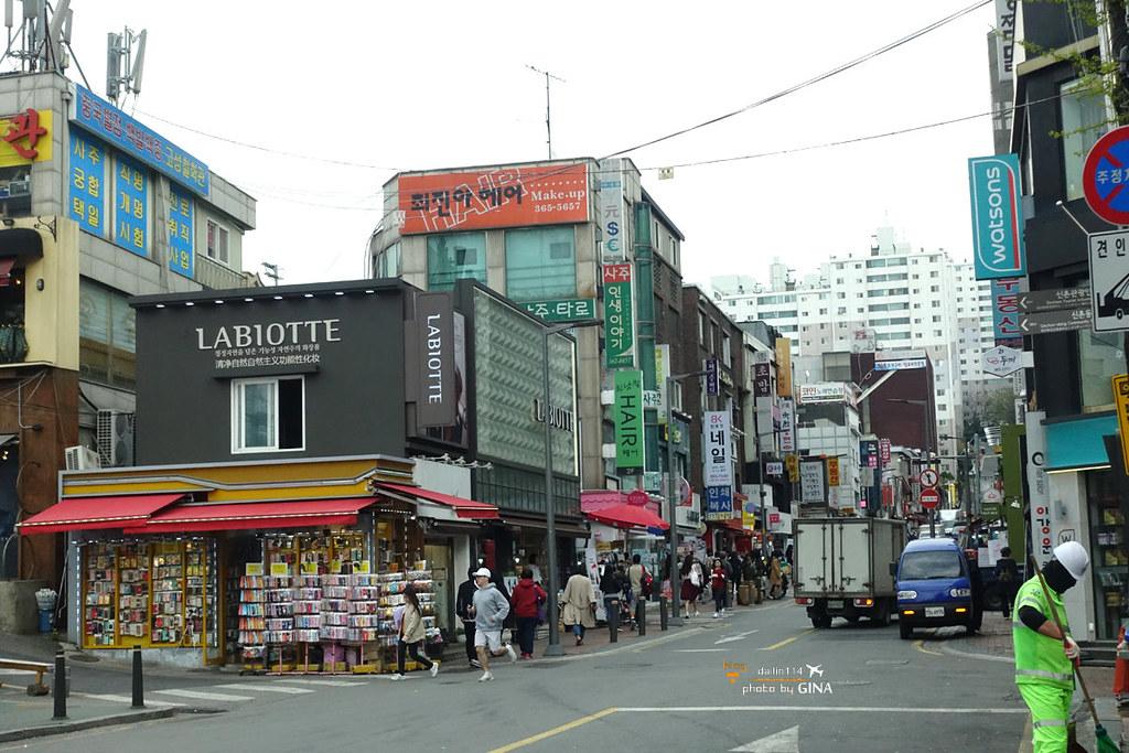 【韓劇鬼怪景點】新村涵洞壁畫隧道(新村站涵洞人行隧道)鬼怪跟地獄使者買蔥耍時尚隧道!買蔥也要這麼時尚! 附交通方式及地圖解說 @GINA環球旅行生活|不會韓文也可以去韓國 🇹🇼
