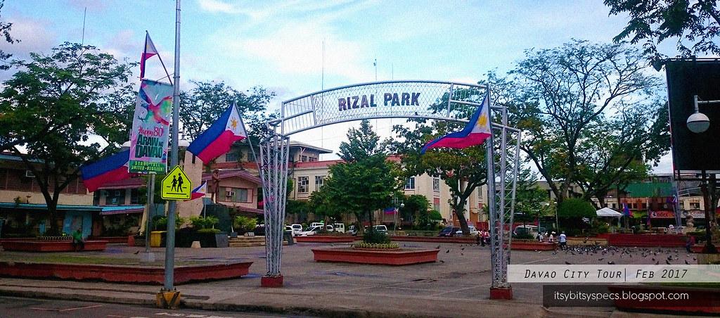 Davao City Proper - Rizal Park