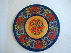 Decorated plate, Czech & Slovak museum, Cedar Rapids
