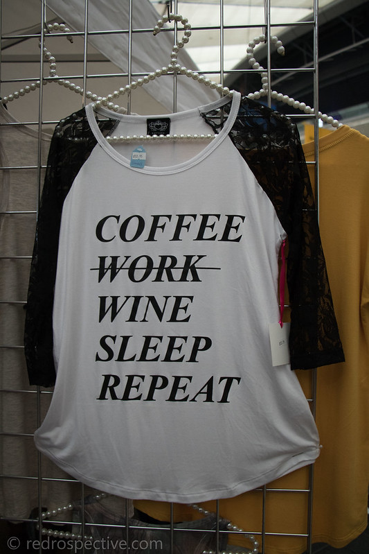 Coffee, Work, Wine, Sleep, Repeat