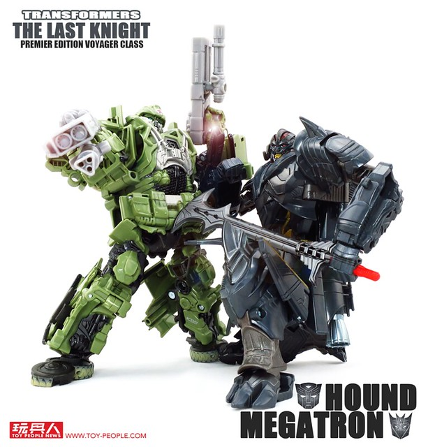 孩之寶《變形金剛5:最終騎士》電影第二波巡弋戰將玩具開箱報告! 馳騁在彈林槍雨、化身為毀滅的黑暗騎士再度降臨!