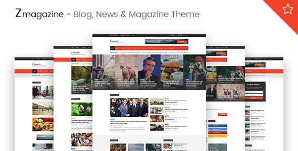 Zmagazine WordPress Theme free download