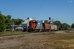 CN L536 at Crenshaw MS