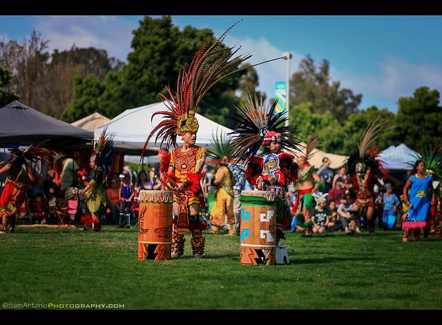Danza Azteca Calpulli Mexihca at the Balboa Park Pow Wow 2017