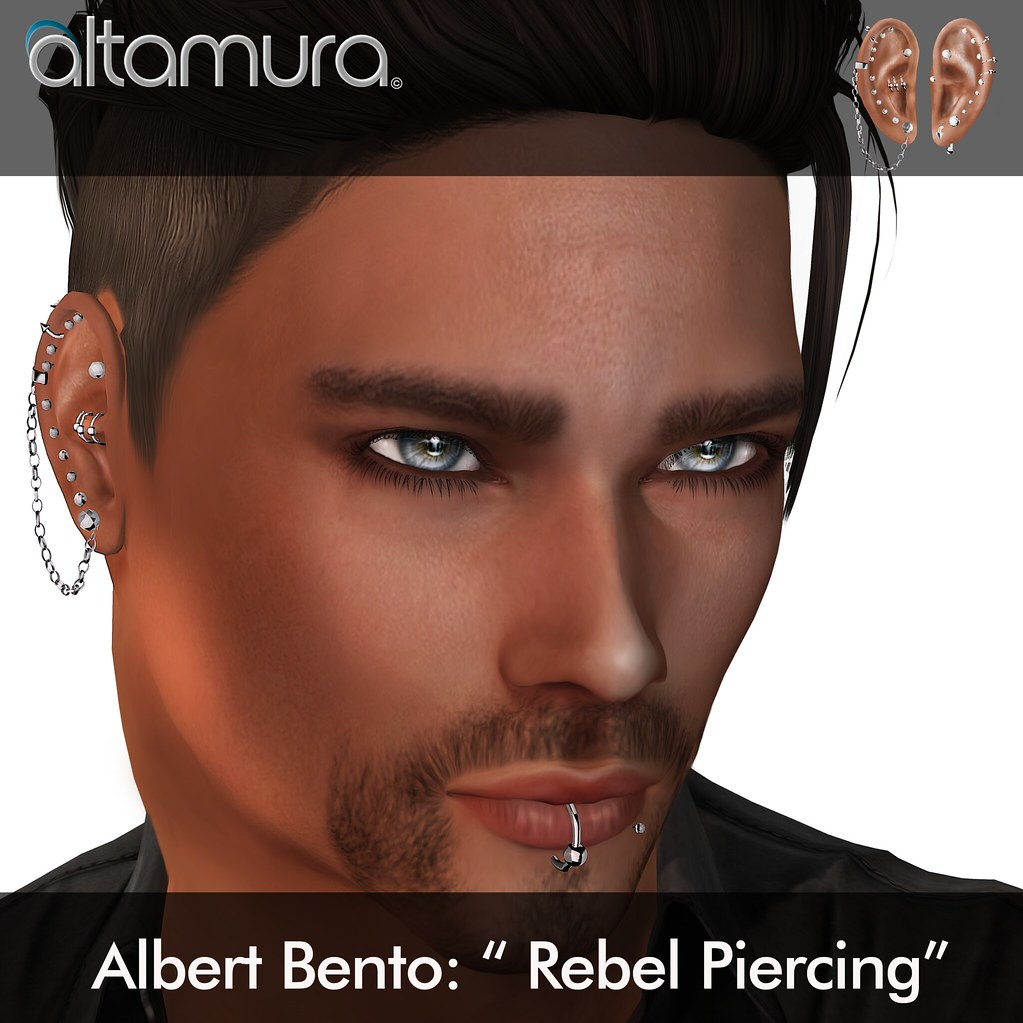 "Altamura Group: ""Albert Bento Rebel Piercing"" - SecondLifeHub.com"
