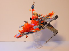 Exploding X-wing