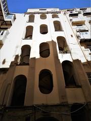 Open stairway 18th century at Salita Tarsia n° 116 in Naples