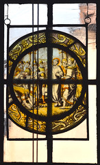 let he who is without sin cast the first stone (16th Century Flemish)