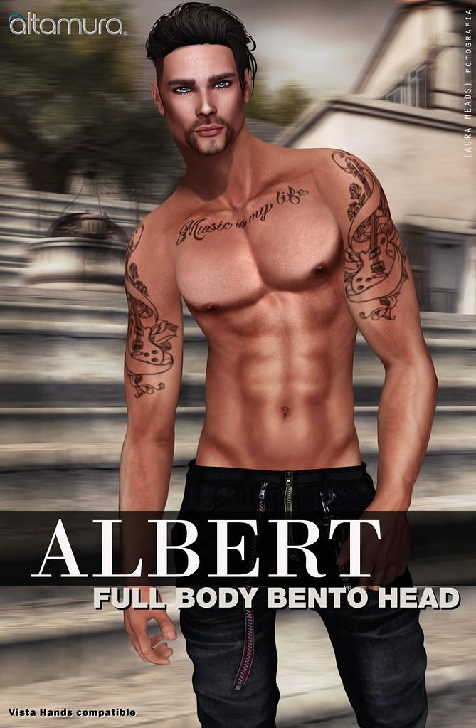 """Altamura: """"ALBERT"""" Full Body Bento Head - SecondLifeHub.com"""