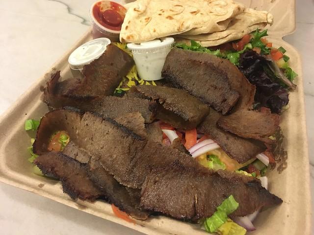 Meat gyro platter - Lazeez