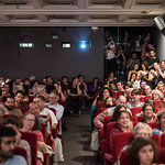 Fri, 06/02/2017 - 20:40 - Soirée d'ouverture du FCP 2017 - le 2 juin 2017 - Salle comble pour la projection de Ghost Hunting, réalisé par Raed Andoni - Prix du meilleur documentaire et Prix du Public à la dernière Berlinale