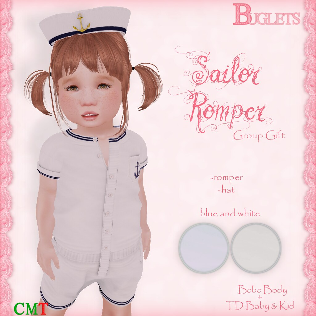 Sailor Romper GG AD - SecondLifeHub.com