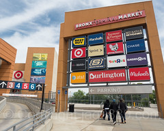 Bronx Terminal Market Store Billboard, Concourse, New York City