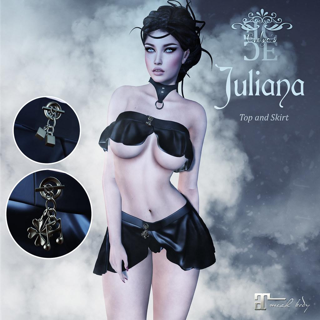 Affiche Juliana - SecondLifeHub.com