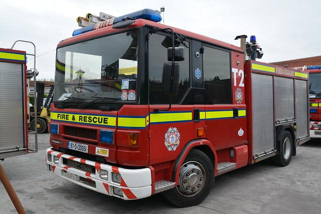 Dublin Fire Brigade 1997 Dennis Rapier Emergency One WrT 97D120051 (Ex Durham & Darlington P878AVK)