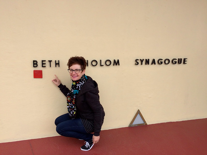 Frank Lloyd Wright - Beth Sholom Synagogue - Elkins Park, PA - Retro Roadmap