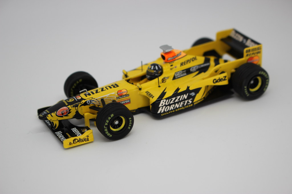 Jordan F1 model in a Zecti Photo Light Box with USB lights
