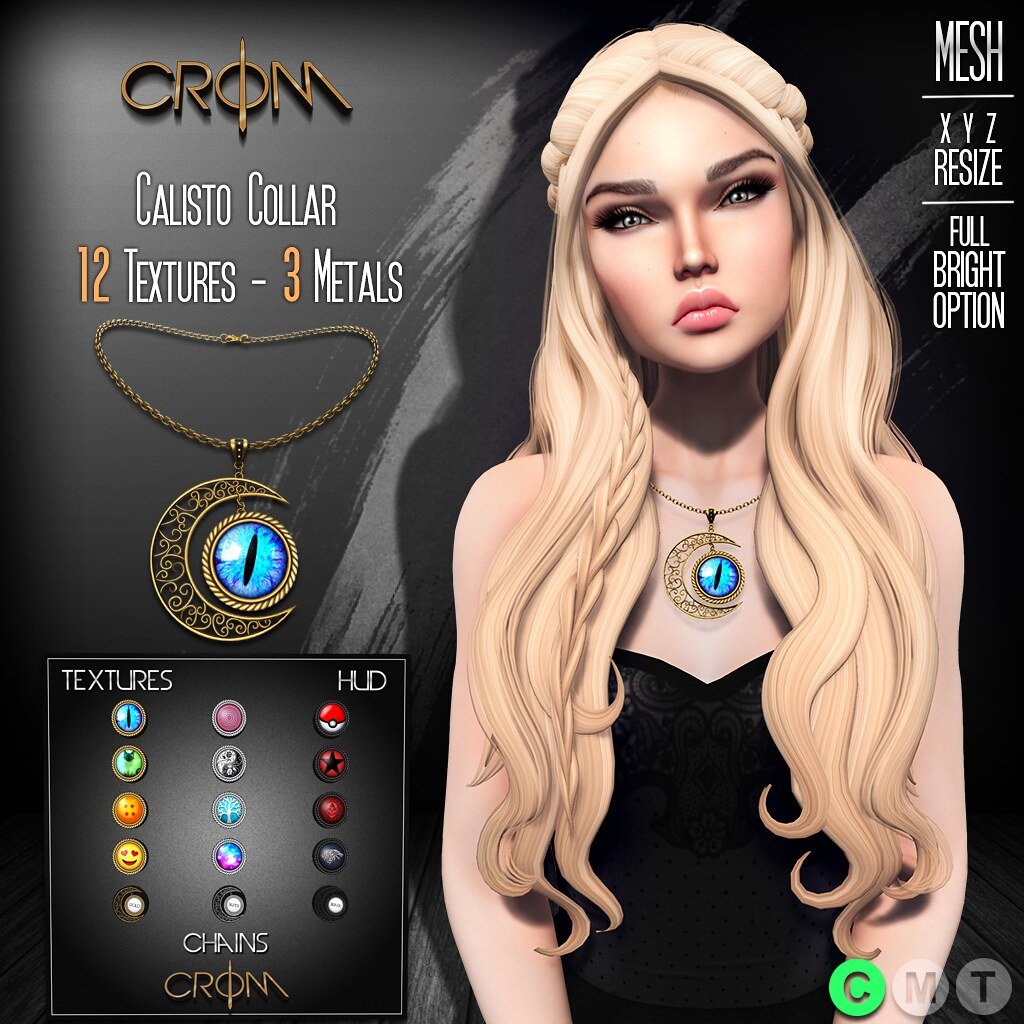 -CroM- Calisto Collar - ✦PROMO✦ - SecondLifeHub.com