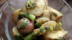 Warm Potato Green Bean Salad 8