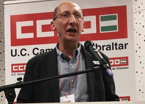 CCOO se une a las muestras de solidaridad con el periodista Shus Terán