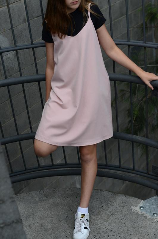 True Bias Ogden Cami dress