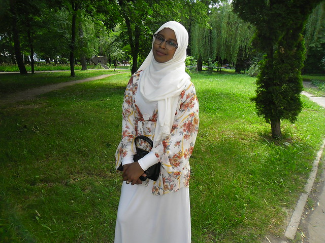 Fartuna from Somalia (Mogadishu). She's graduates from University and in six days going to Somalia