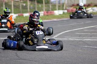Pilotos dão o show na segunda etapa do Kart. Foto: Gabriela Simões