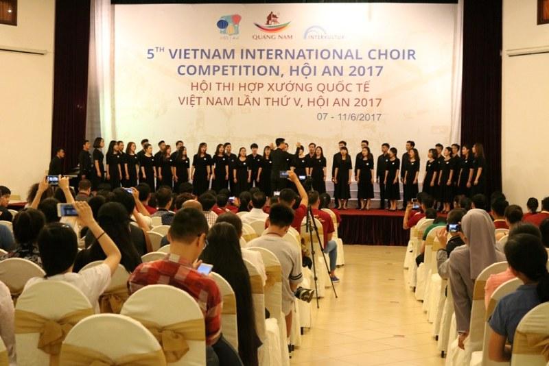 Dàn Hợp Xướng Trẻ Công Giáo Hà Nội Thi Hợp Xướng Quốc Tế Việt Nam Lần V