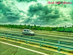 Highway of #Colombo #srilanka #sky #cloud #car #road #travelling #travel
