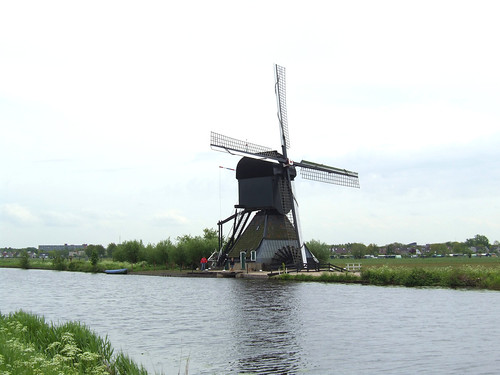 old windmill on a UNESCO World Heritage Site