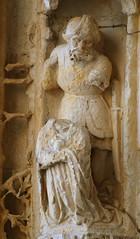Saintes cathedral west portal