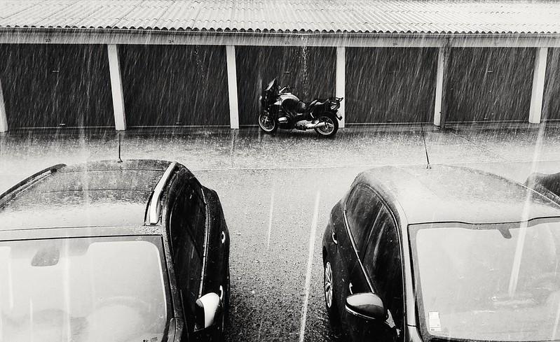 Pluie et grêle