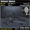 Tool Shed - Weight Bench Mesh Kit Ad