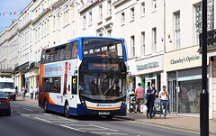 Sun shines on Stagecoach Midlands Alexander Dennis Enviro 400 MMC, 10730