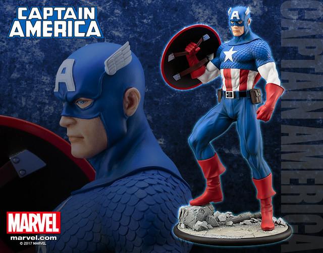 壽屋 ARTFX MARVEL UNIVERSE 【美國隊長】 Captain America 1/6 比例全身雕像作品