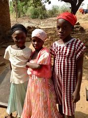 Young girls posing, Langa Langa Village, Nasarawa State, Nigeria. #JujuFilms