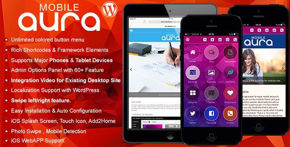 Aura v1.6.2 - Premium Mobile Theme