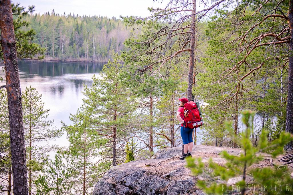 Repoveden kansallispuisto kevät 2017