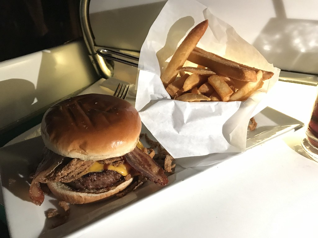 Drive-In BBQ Burger ($19.00)